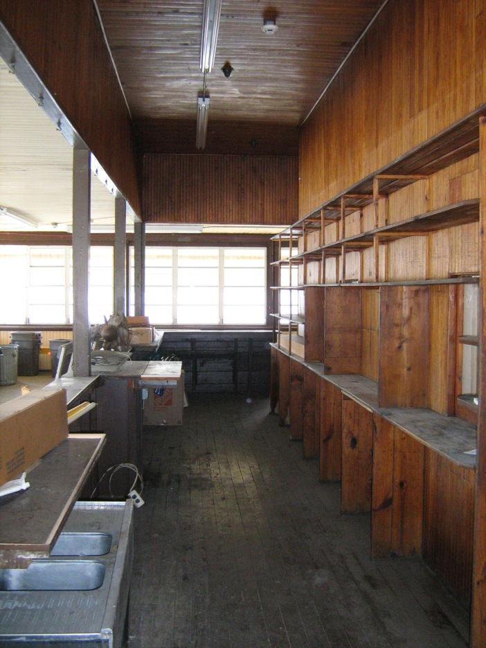Photo 8: View west in the snack bar.